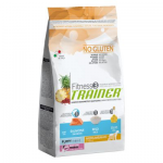 Fitness3 Medium/maxi Puppy Salmone e Riso 12 Kg