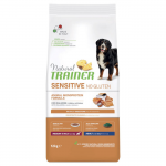 Natural Trainer Sensitive MEDIO-MAXI monoproteico al salmone 12kg