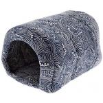 Tunnel cuccia in cotone cm 48x35x35