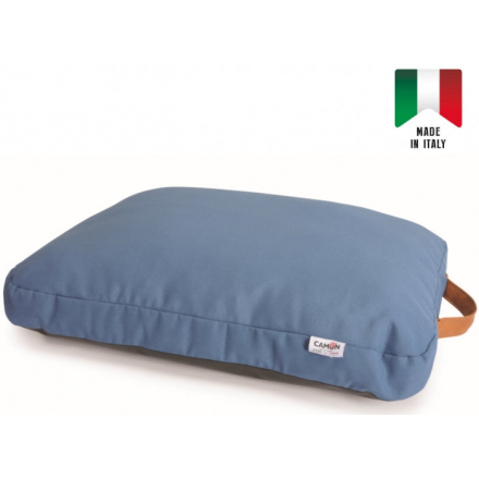 Cuscino sfoderabile RECYCLED cm 50x65 BLU