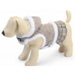 Pettorina invernale a giacchetta con cappuccio tg. XS