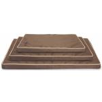Cuscino Luxury Extreme 60x90 MARRONE impermeabile e sfoderabile