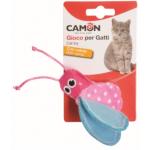 Gioco per gatti peluche con catnip cm 8 - ROSA