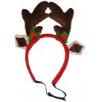 Cerchietto natalizio Renna per cani d. 12 cm