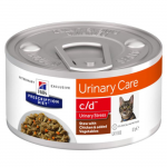 C/D Urinary STRESS pollo verdure gatto umido STEW 82g