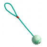 Palla con corda d. 6,5cm 38 cm