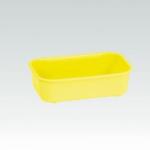 Bagnetto interno-mangiatoia in plastica per uccelli cm13x8 h 4