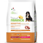 Natural Trainer Sensitive Anatra Puppy & Junior Medium - Maxi 3 kg