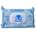 Salviette detergenti senza profumo 50pz