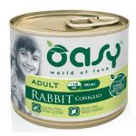 OASY One Protein per cani - Patè coniglio e carote 200g