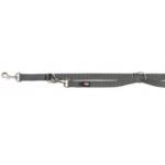 Guinzaglio premium da addestramento L-XL 25 mm x 2 m GRIGIO