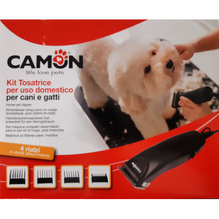 Kit tosatrice elettrica a filo per animali