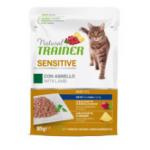 Natural trainer sensitive agnello - patè gatto 85g