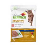 Natural trainer sensitive maiale - patè gatto 85g