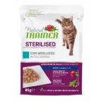 Natural trainer steriised Merluzzo - bocconcini gatto 85g