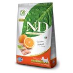 N&D Pesce ed arancia Grain Free - Adult mini 800g