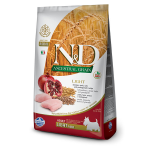 N&D Pollo e Melograno Low Grain LIGHT - Adult Mini 2,5kg