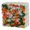 Pietra di sali minerali con alga spirulina e verdure