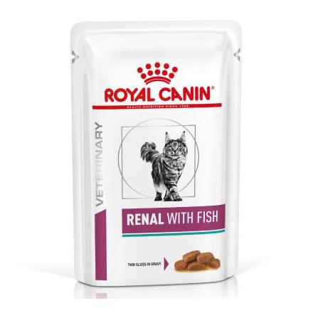 Renal Pesce umido gatto 85g