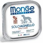 Monge Solo Agnello umido cane 150g