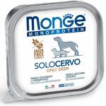 Monge Solo Cervo umido cane 150g