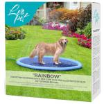 Rainbow Tappetino rinfrescante con spruzzi per cani d. 150cm
