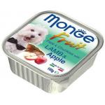 Monge Fruit Agnello e Mela 100g