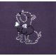 Maglioncino Salento in pile con cappuccio amovibile cm 27