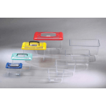 Acquario in plastica con coperchio cm 30,5x21 h21 7,5l