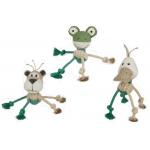 Animaletti in cordura di canapa - gioco per cani h.25 cm