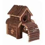 Casetta in legno FINN per criceti e piccoli roditori cm13x20h20