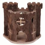 Castello in legno Matti per criceti e piccoli roditori cm 17x12h15