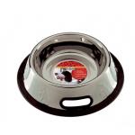 Ciotola antirovesciamento acciaio antiscivolo 1,5 l d.20cm