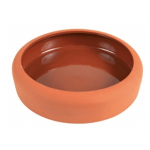 Ciotola in terracotta con finitura interna ceramica 125ml d.10cm