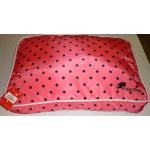 Cuscino sfoderabile per cani e gatti cm 60x40 h14 Poix Dotty