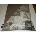 Cuscino sfoderabile per cani e gatti cm 80x50 h11 tg.5 Beige