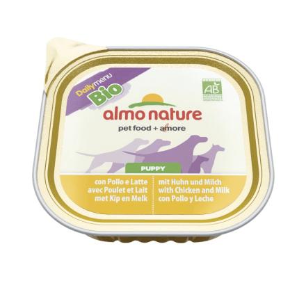 Daily Menu Bio Dogs Puppy Pollo e latte 100g