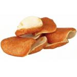 DENTAfun Chips, dischetti di pelle di bufalo rivestiti con pollo 8pz 100g