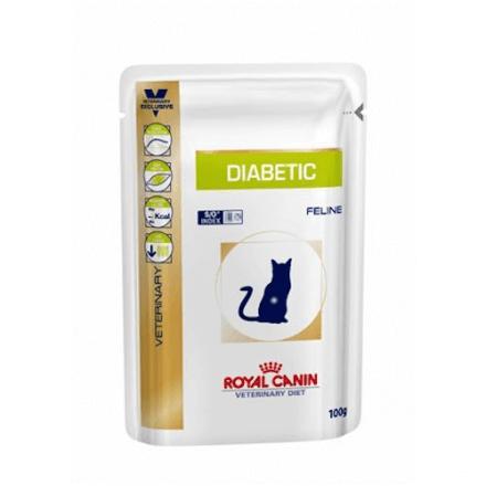 Diabetic gatto umido 100g