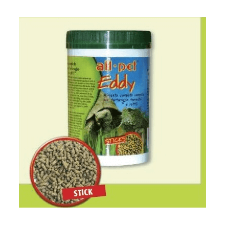 Eddy, stick mangime completo tartarughe terrestri e rettili 250g