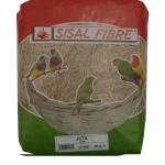 Fibre di sisal - juta per nido uccelli 500g