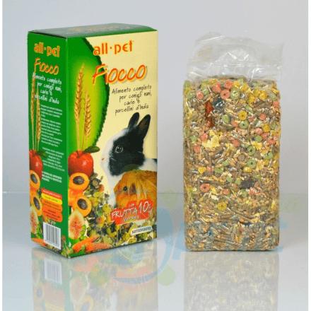 Fiocco alimento completo per conigli 800g