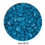 Ghiaia per acquario blu lucida 1 kg