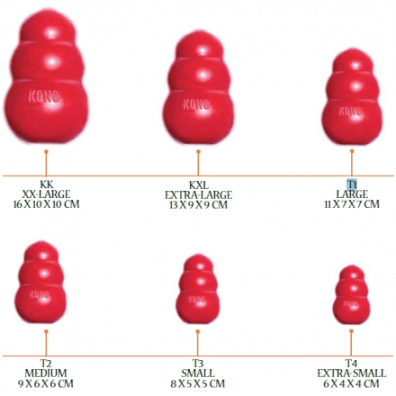 Kong Classic portabiscotto Large (13-30 kg)