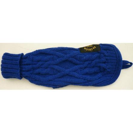 Maglioncino alta qualità in lana per cani tg.21 BLU