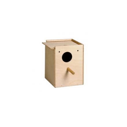 Nido in legno per cocorite cm 11,5x12 h16