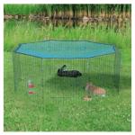 Recinto per conigli Natura con rete 6pz da cm60x57