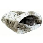 Sacco per gatti in morbido peluche 25x45h27 cm