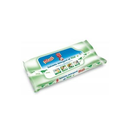 Salviette detergenti all\' Aloe 50pz