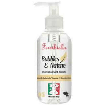 Shampoo per cani a manto bianco 250 ml - Made in Italy
